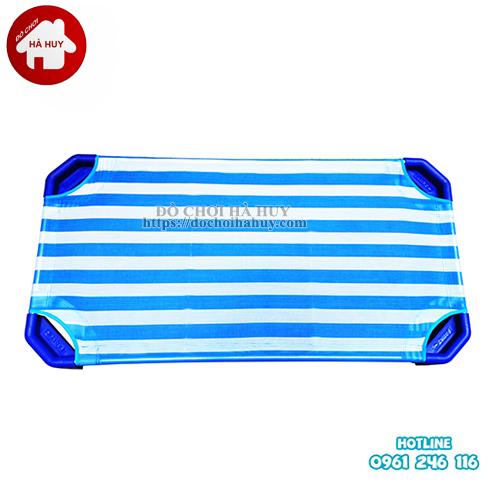 Giường lưới chân vuông cho trẻ mầm non giá tại xưởng sản xuất HC1-015