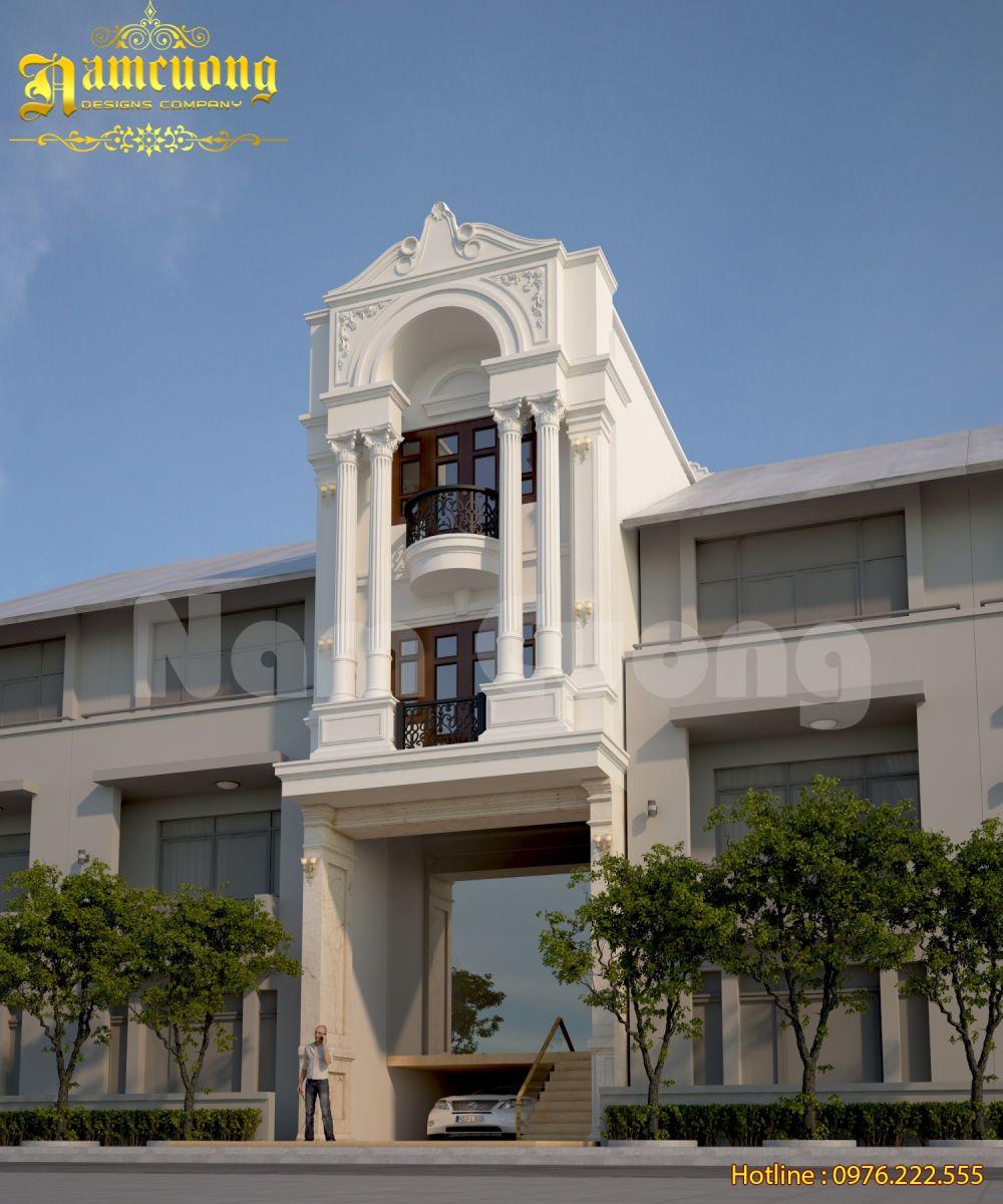 Thiết kế nhà ống kiến trúc Pháp CĐT anh Châu Đà Nẵng