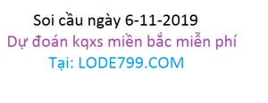 số lô đề đẹp - dự đoán chuẩn vip ngày 06-11-2019 - lode799.com