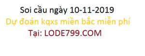 xổ số mb - dự đoán chuẩn vip ngày 09-11-2019 - lode799.com
