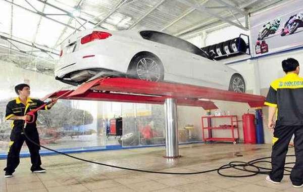 Những chiếc máy rửa xe phù hợp với tiệm rửa xe chuyên nghiệp