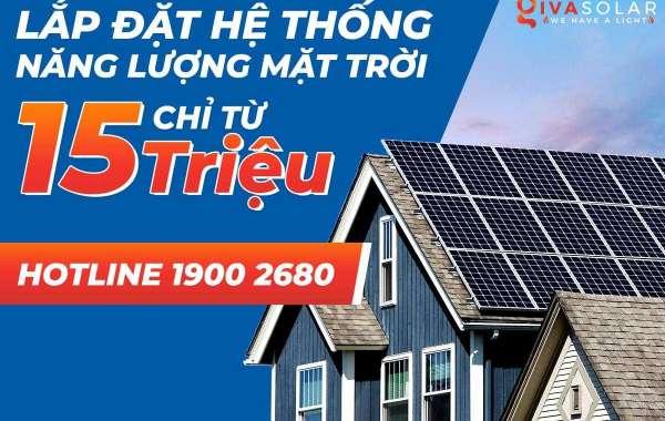 Báo giá lắp đặt điện năng lượng mặt trời