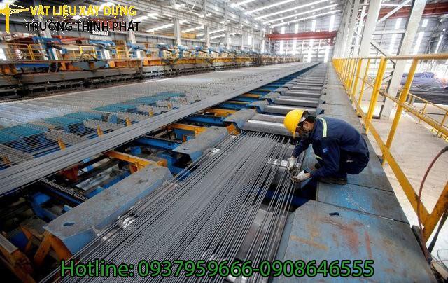 Bảng báo giá thép Việt Nhật - Vật liệu xây dựng Mạnh Cường Phát