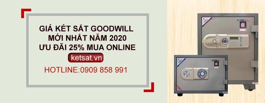Giá két sắt tại Goodwill mới nhất - Két sắt GOODWILL