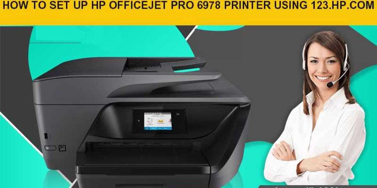 How to set up HP Office Jet Pro 6978 Pinter using 123.hp.com/setup 6978