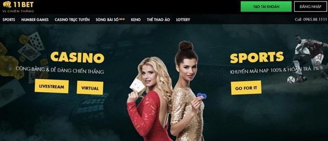 11bet - Đỉnh cao của casino trực tuyến và cá cược thể thao