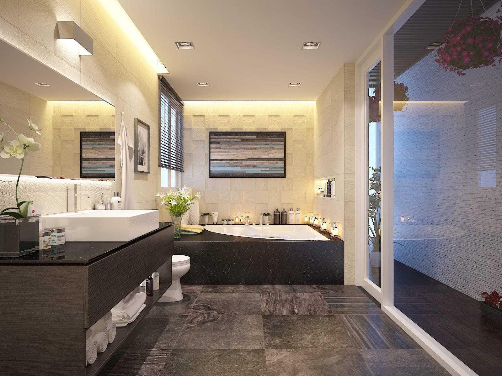 Cách lựa chọn đèn chiếu sáng phòng tắm theo tính năng