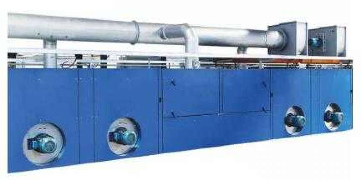 Hot Air Stenter Machine Controls Air Volume