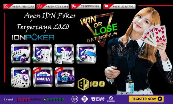 Agen Poker IDN Online Terpercaya 2020 | Betwin188 Terbaik