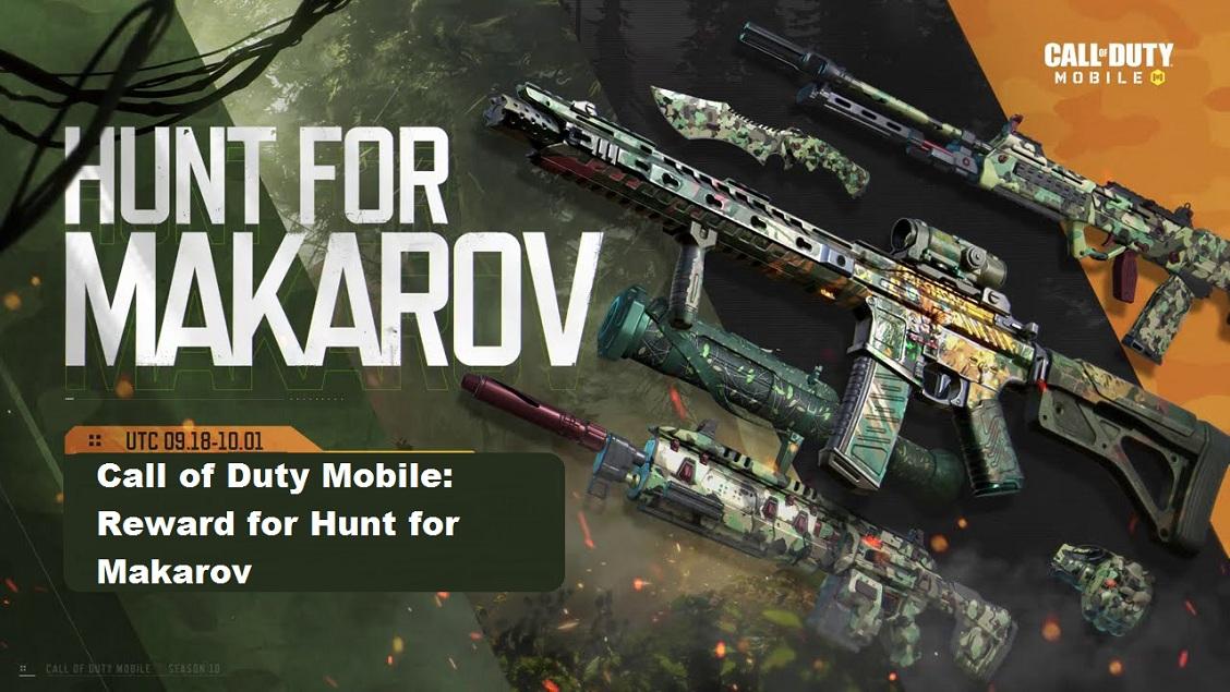 Call of Duty Mobile: Reward for Hunt for Makarov – Jon Snow