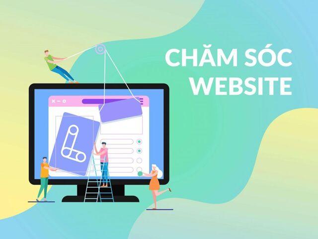 Dịch vụ quản lý website, viết bài, chăm sóc website