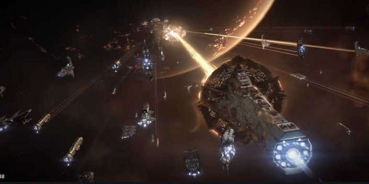 EVE Online can provide clearer visual effects