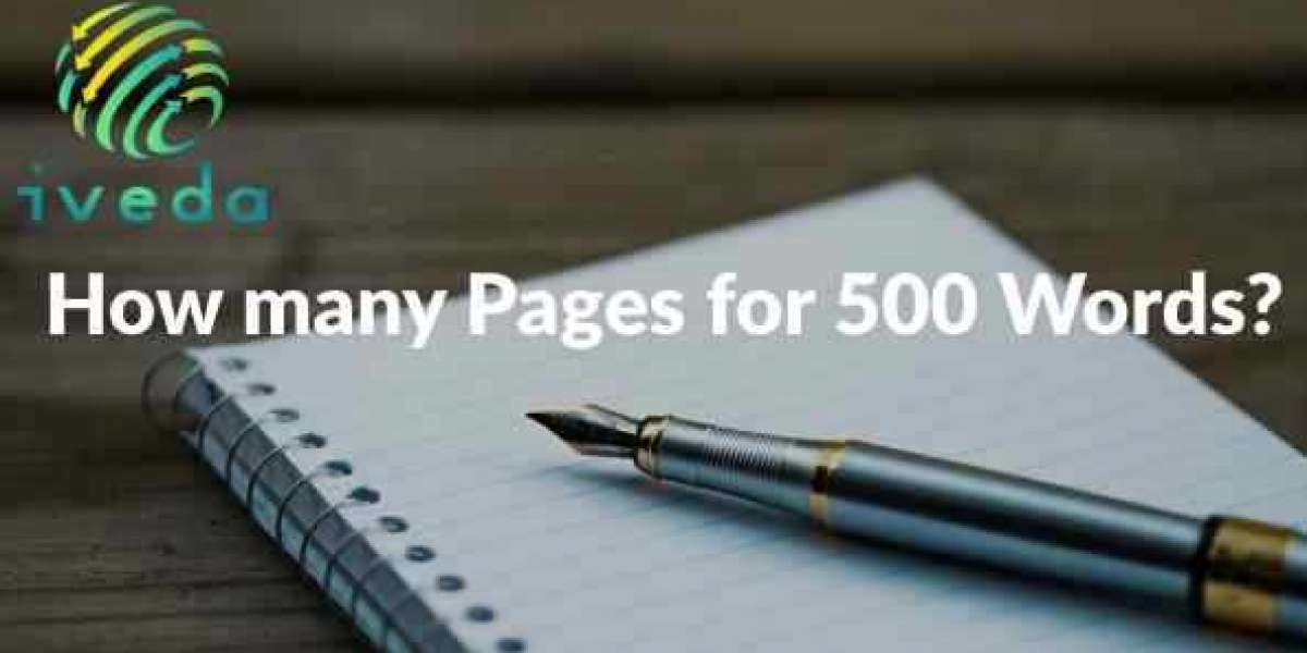 how many pages is 500 words