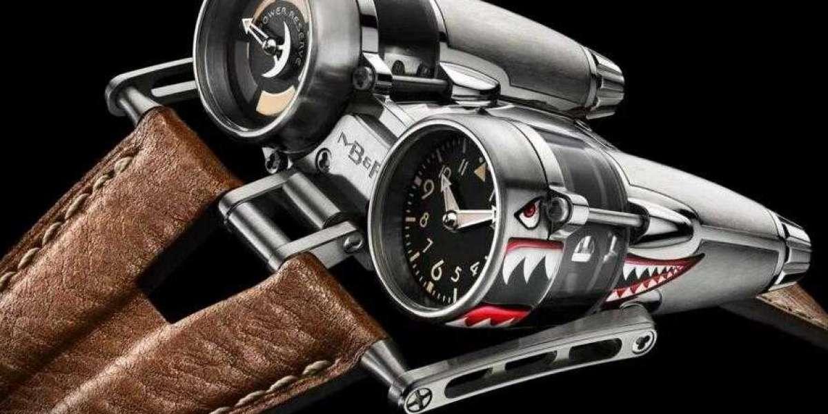 MB&F HM4 Horological Machine N4 Final Edition Black Titanium 42.BTSL.B watch