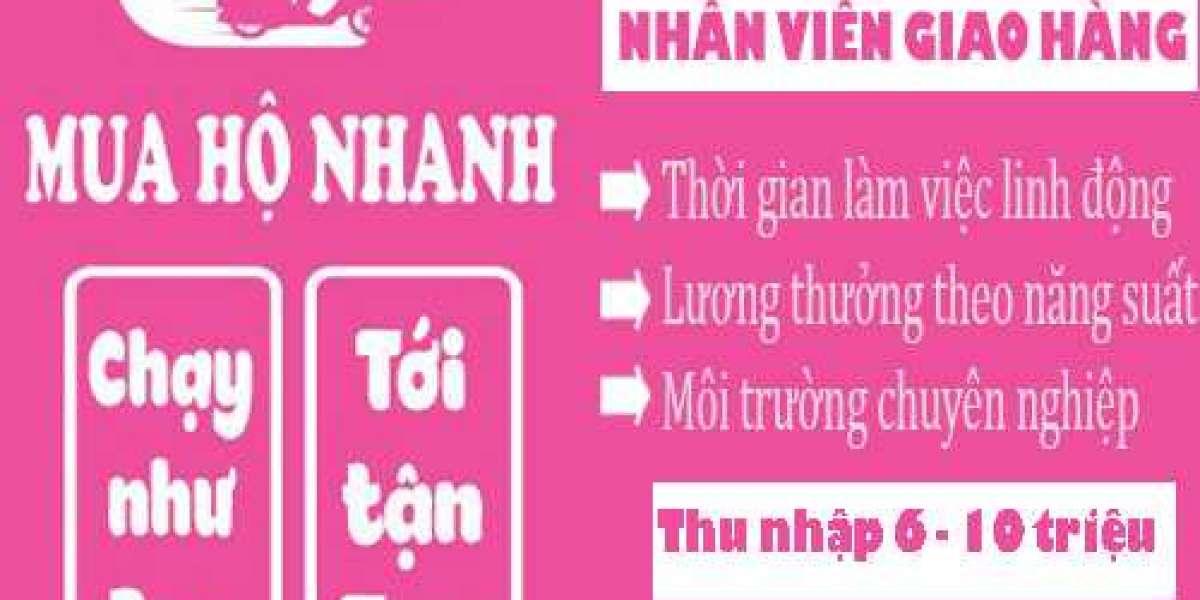 TUYỂN NHÂN VIÊN GIAO HÀNG - SHIPPER
