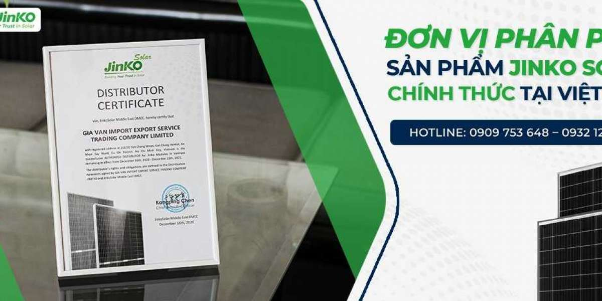 Nhà cung cấp tấm pin mặt trời Jinko solar việt Nam