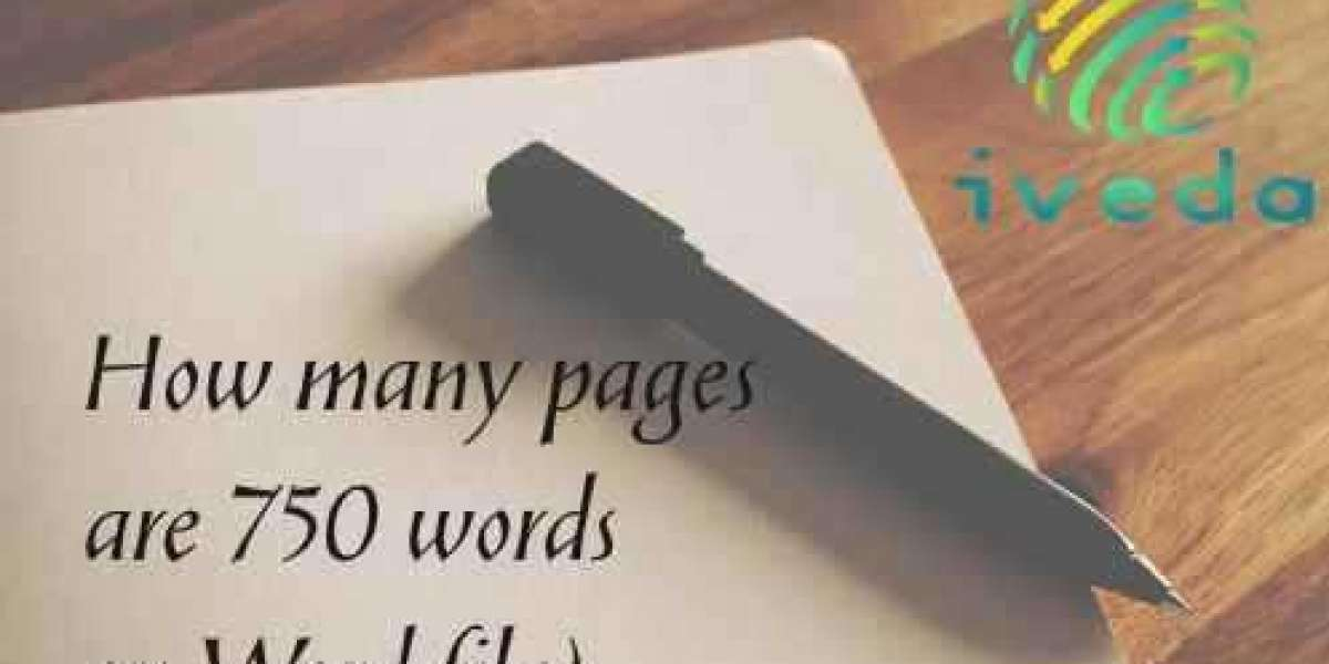 how many pages are 750 words