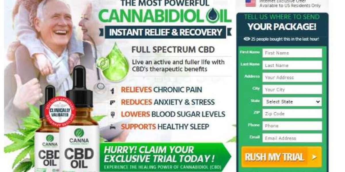 Canna Organic CBD - Relieve Stress & Anxiety With Canna Organic Farms!