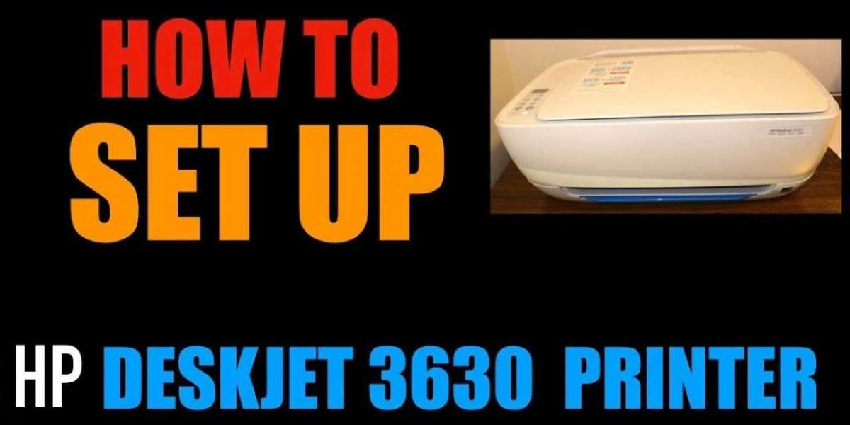 Brand New HP Deskjet 3630 Printer Setup Driver Installation