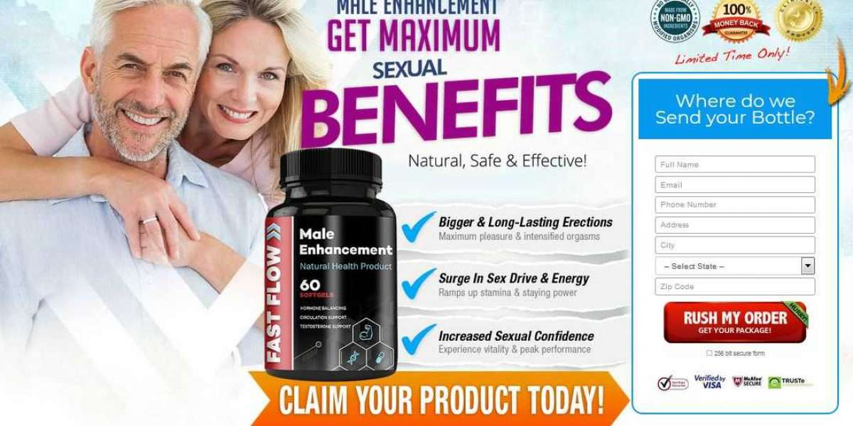 Increase Penis Size With Fast Flow Male Enhancement!