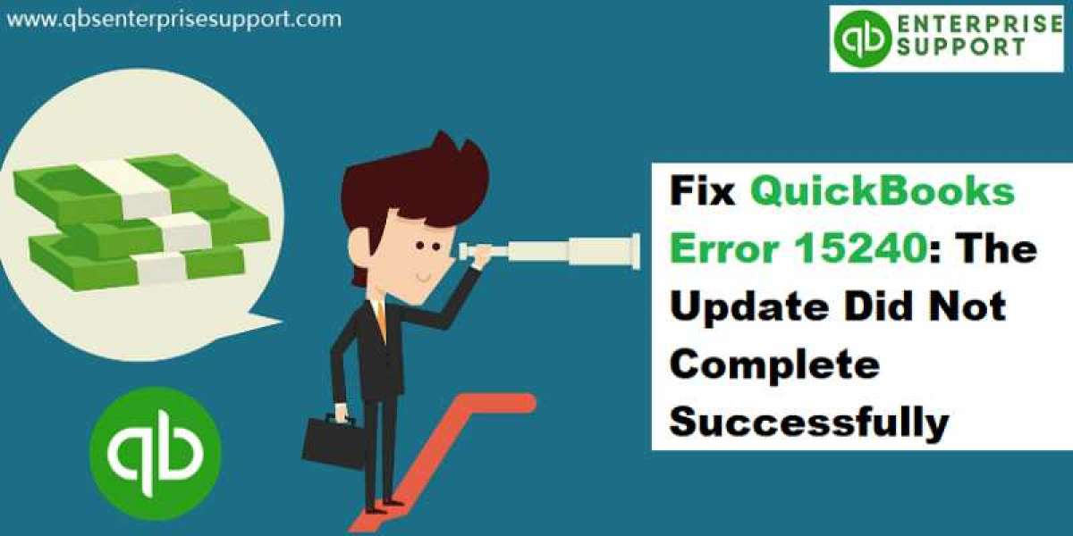 How to Fix QuickBooks Error 15240 (Payroll Update Didn't Completed)?
