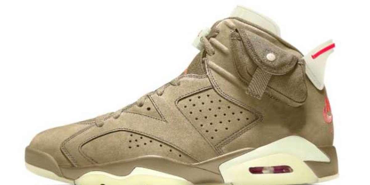 DH0690-200 Travis Scott x Air Jordan 6 Officially Release
