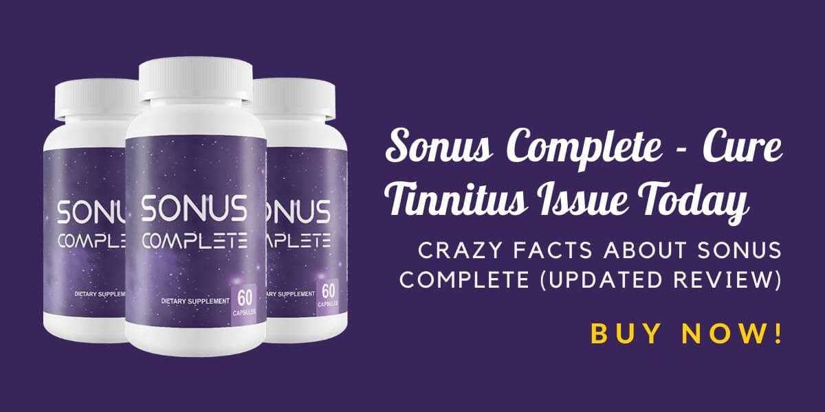Sonus Complete - Cure Tinnitus Issue Today