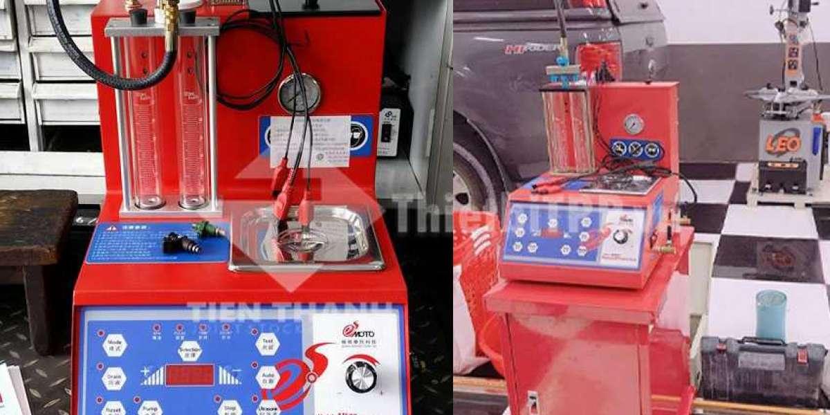 Máy súc béc phun xăng điện tử được ưa chuộng trên thị trường, kèm theo nhiều chức năng