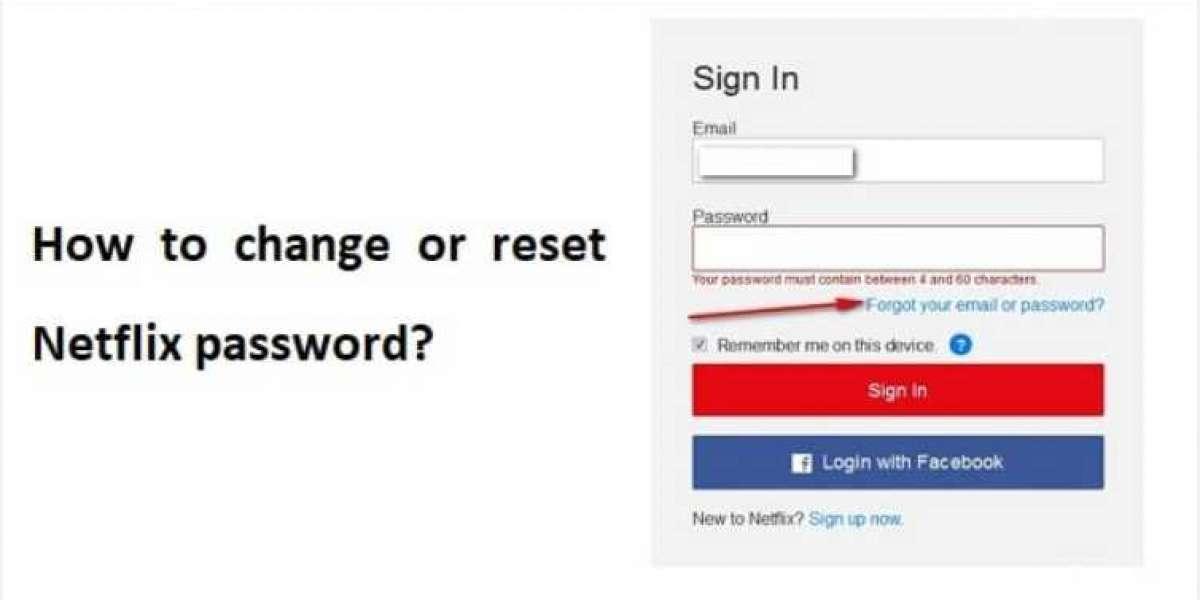 How to Change Netflix Password?