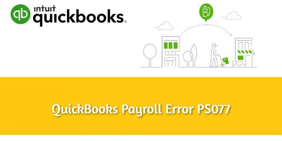 How To Fix Quickbooks Error PS077? | QuickBooks Error