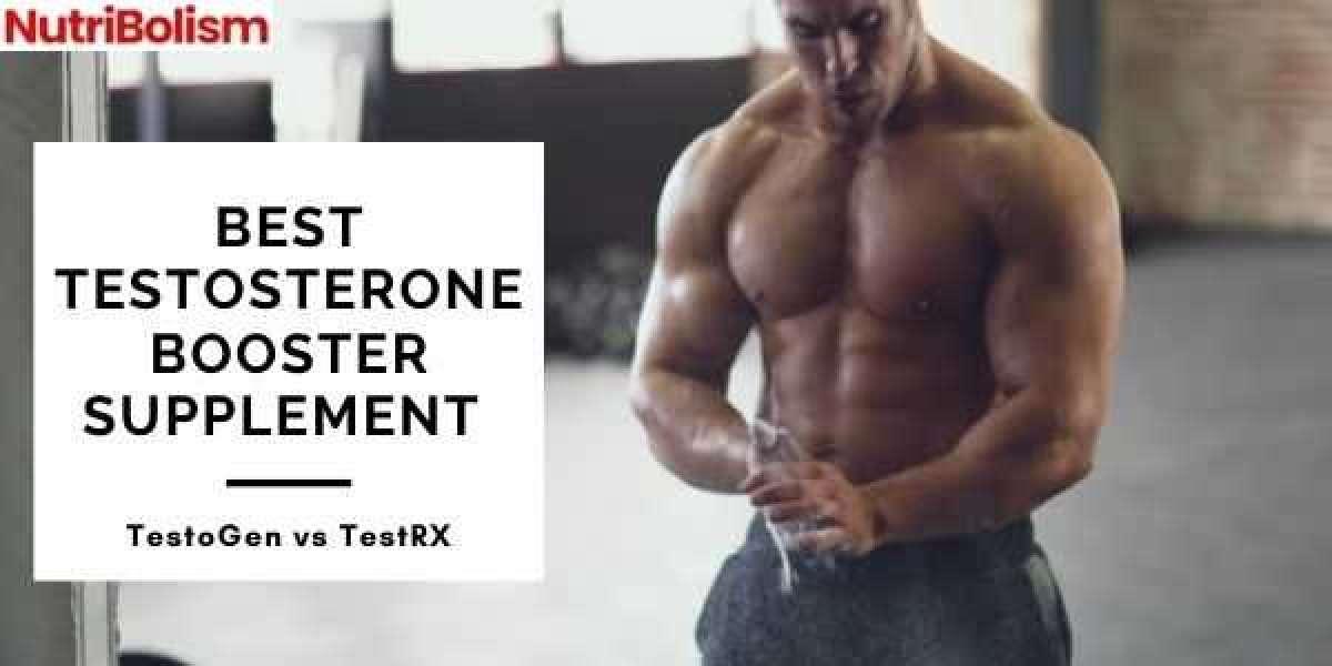 Best Testosterone Booster Supplement 2021:TestoGen vs TestRX