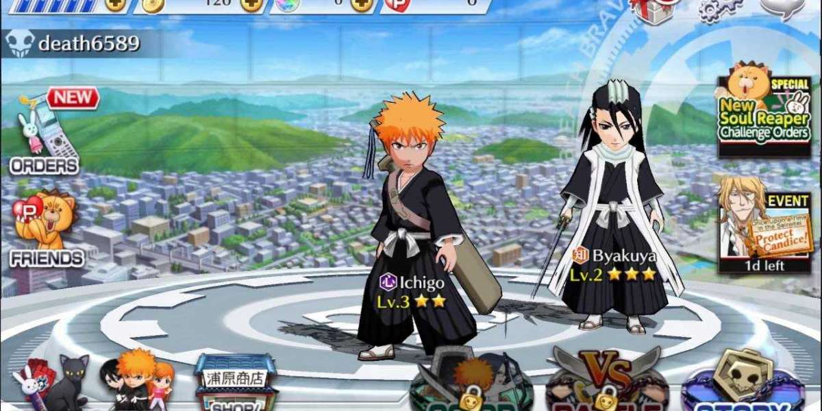 Bleach Brave Souls Mod Apk - the best role-playing game