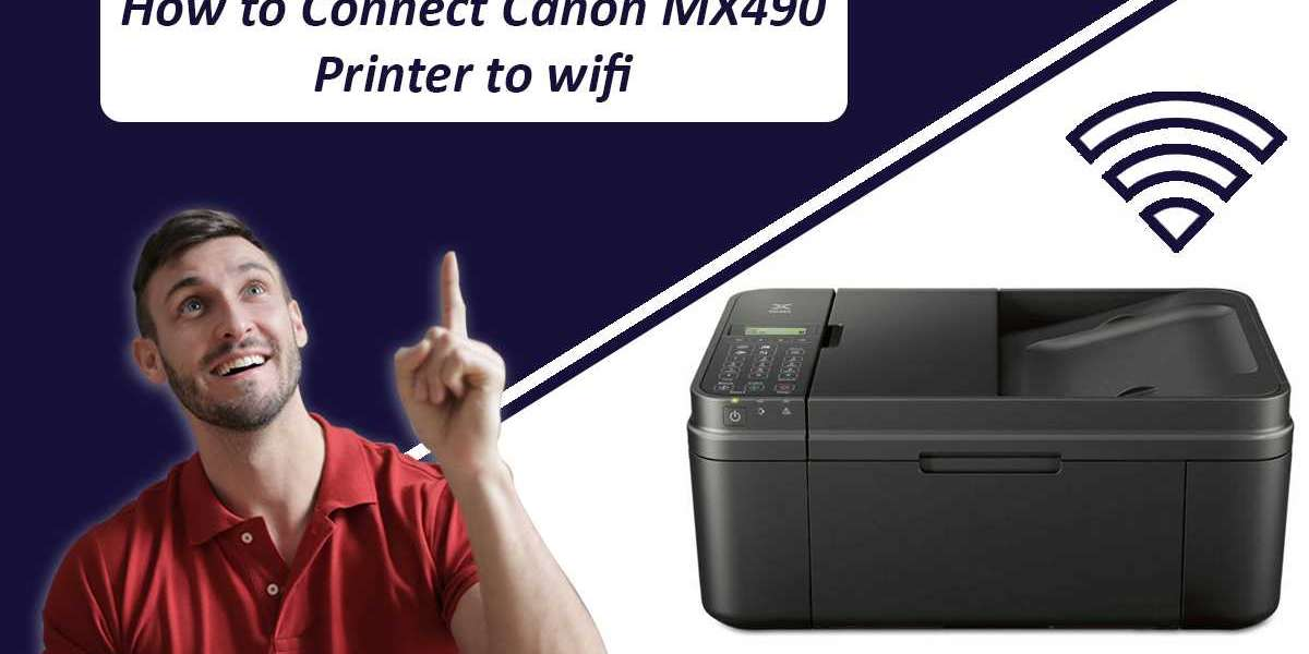 Canon Printer Setup Instructions for MX490 Series