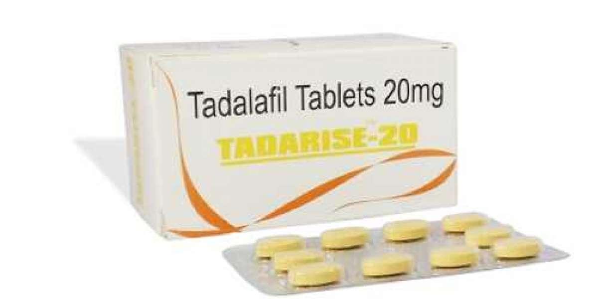 Tadarise 20 (Buy Tadalafil Tablet) || cutepharma