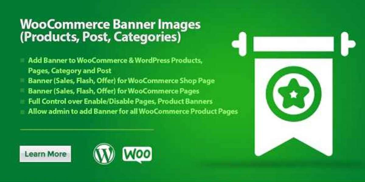 WooCommerce Banner Images