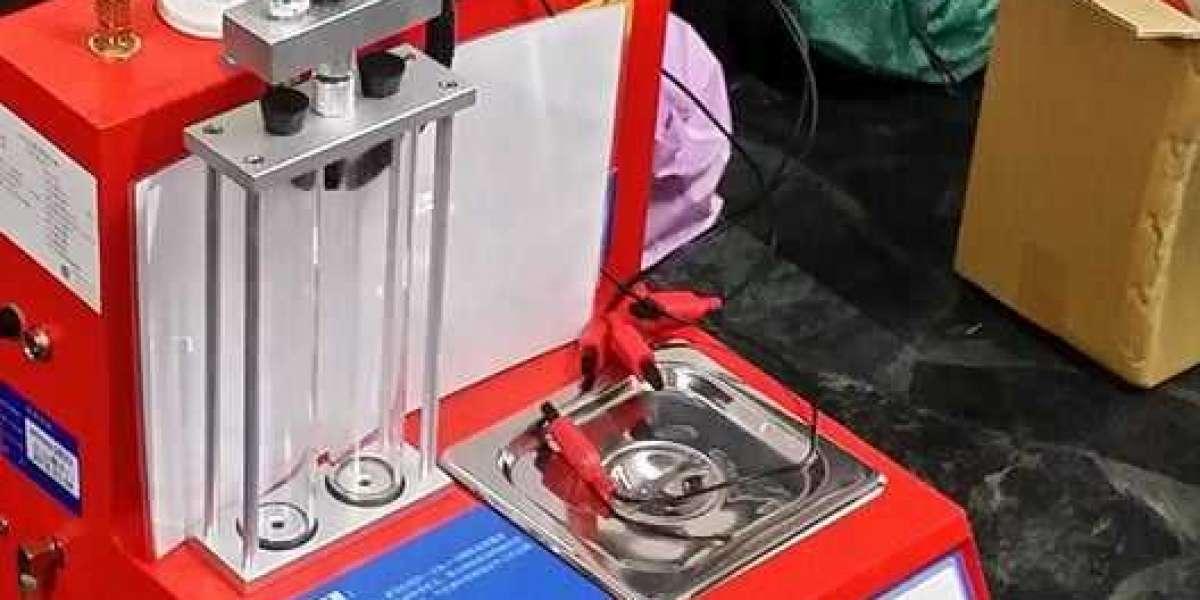 Vệ sinh kim phun bằng máy súc rửa kim phun xe máy để đạt được hiệu quả làm sạch