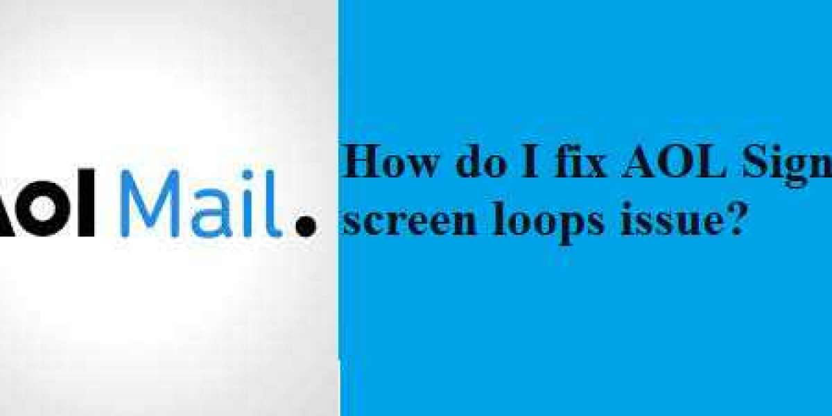 How do I fix AOL Sign in screen loops issue?