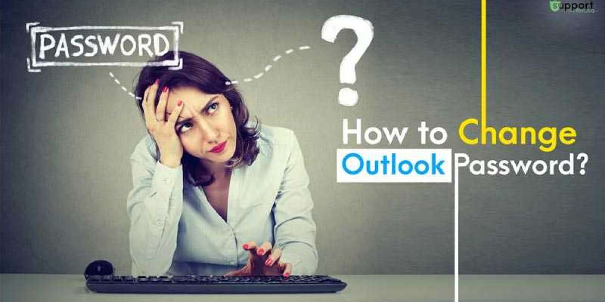 How to Change Outlook Password on Windows 10?