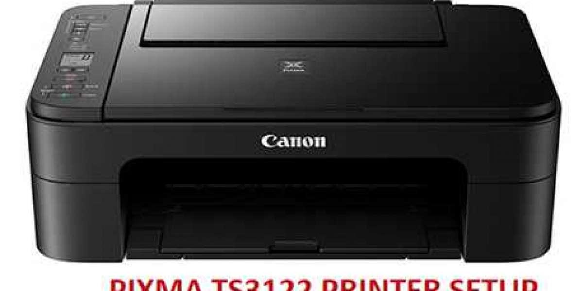 IJ Start Canon Pixma TS3122 Unboxing Setup -  ij.start.canon/ts3122