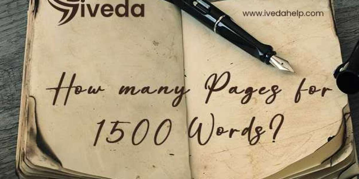 how many pages is 1500 words