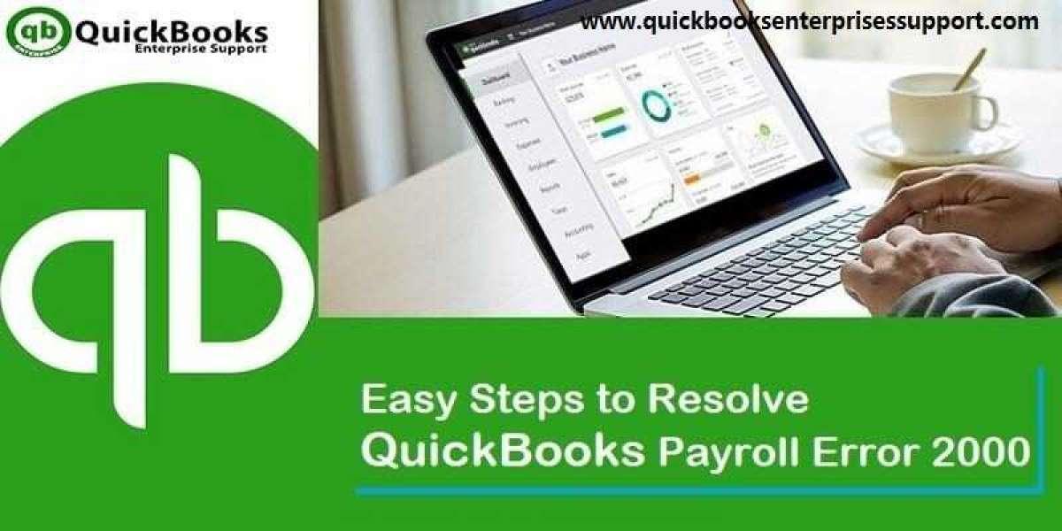 What are the Best Ways to Fix QuickBooks Error 2000?