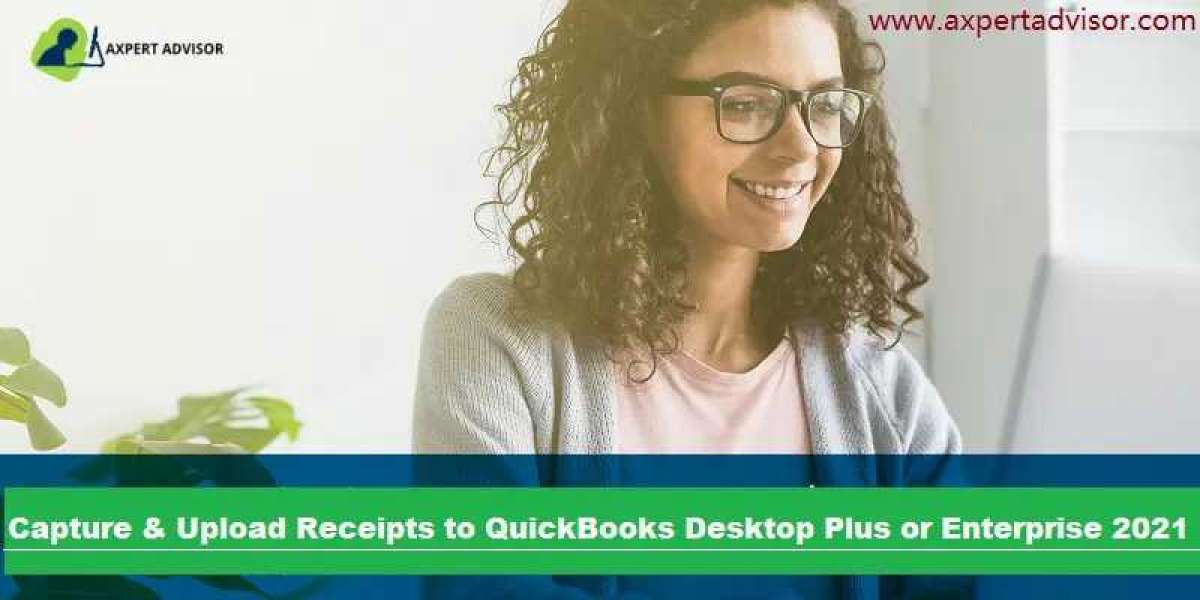 How to Capture and Upload Receipts to QuickBooks Desktop?