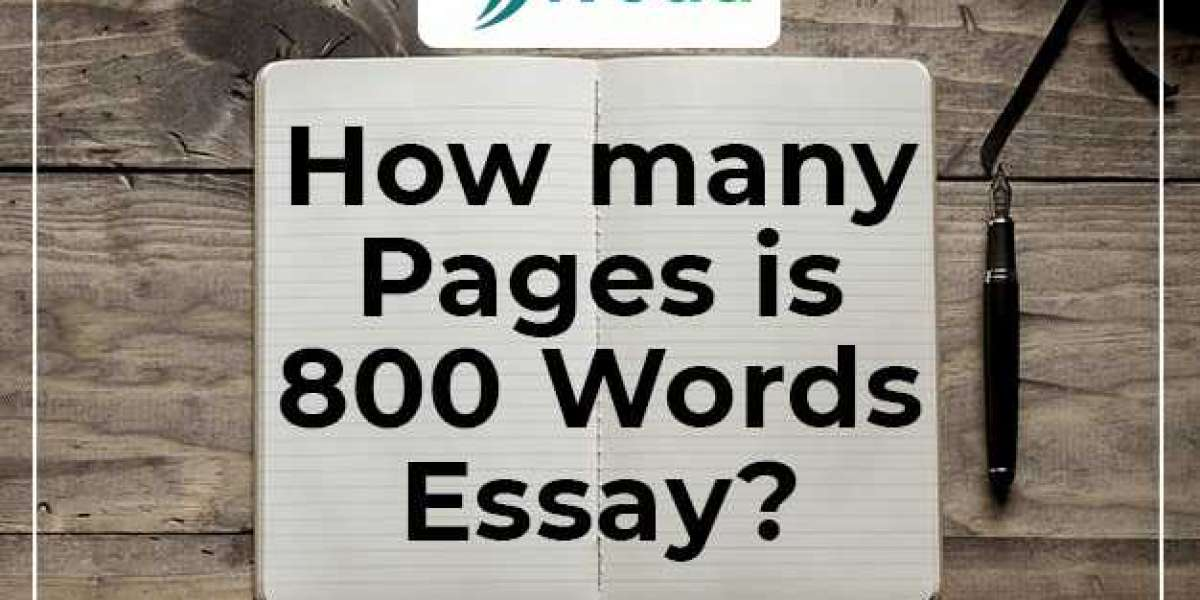 how many pages is 800 words