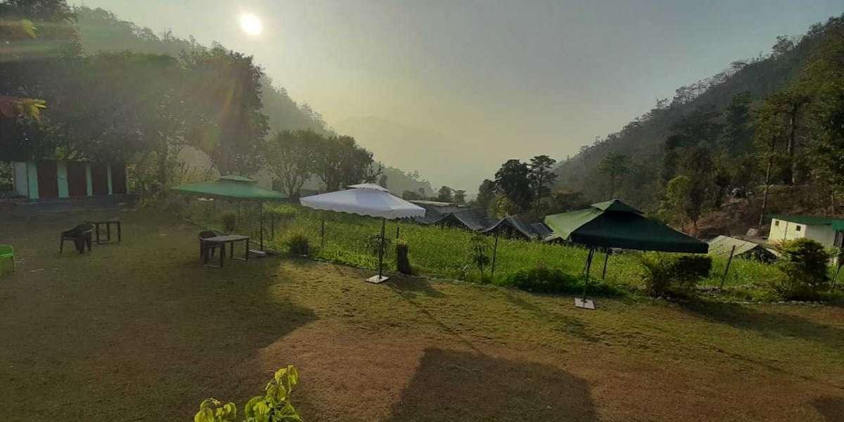 Camping with swimming pool in rishikesh