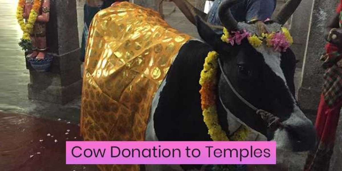 Cow Donation to Temples