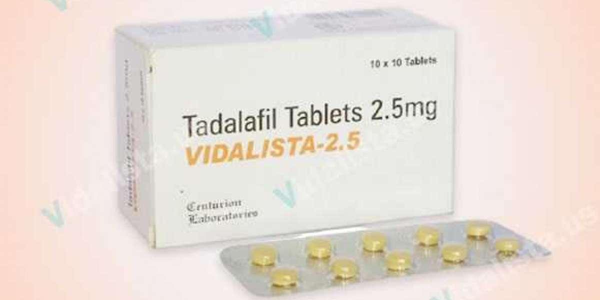 Vidalista 2.5 mg – Trustable Tablet | Buy Online
